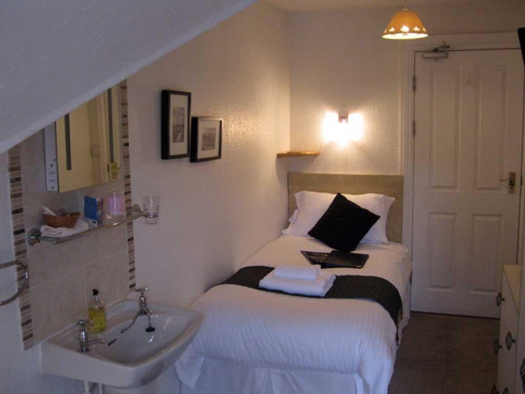 Accommodation - top floor single